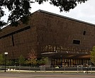 The soon-to-be-opened Smithsonian National Museum of African American History and Culture is seen September 1, 2016 in Washingotn, DC. The museum was established by Act of Congress in 2003. It is the only national museum devoted exclusively to the documentation of African American life, history, and culture. A dedication ceremony will be held to mark the grand opening of the museum on September 24. (Photo by Alex Wong/Getty Images)