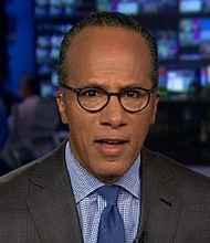 Lester Holt appears as the anchor of NBC Nightly News on June 8, 2015.