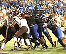 By land or by air, the UofM pushed over the Falcons of Bowling Green. (Photo: Warren Roseborough)