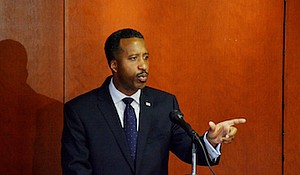 **FILE** D.C. Council member Kenyan McDuffie