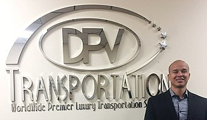 Daniel Perez founded DPV transportation ten years ago and has grown it into a $2.8 million business.