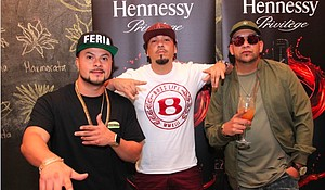 Chino Bling, Baby Bash and Guelo Star