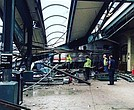 A New Jersey Transit train crashed into a platform in Hoboken during Thursday, September 29, 2016 morning's rush-hour commute.