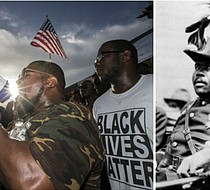 Black Lives Matter protesters in Dallas, Marcus Mosiah Garvey (Getty Images/Ap Images)