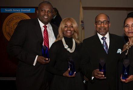 People Making A Difference Award Honorees: John E. Harmon, Sr., Brenda Ross-Dulan, Bishop David G. Evans and Loretta Winters.