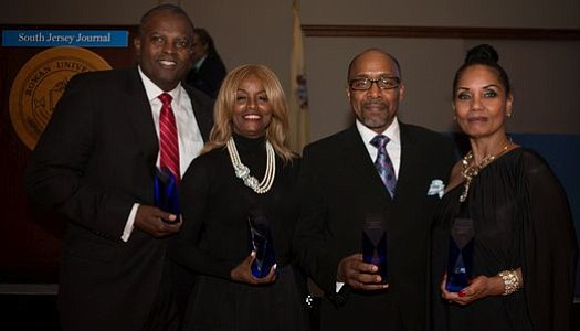 People Making A Difference Award Honorees: John E. Harmon, Sr., Brenda Ross-Dulan, Bishop David G. Evans and Loretta Winters.