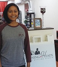 Brandi Cowan has joined Turning Heads Hair Styling Studio, located at 3609 N.E. Martin Luther King Jr. Blvd., as a full time stylist.