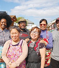 Delicious foods from around the world , a showcase of minority-owned businesses, and a friendly atmosphere with live musical events and family activities makes the Piedmont Station food cart pod a popular destination in the Soul District of north and northeast Portland.