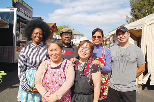 A food cart pod in northeast Portland has become the go-to place for delicious foods from around the world all ...