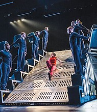 Diavolo is famed for its fearless performers who navigate enormous architectural structures on stage.