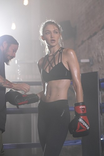 Gigi Hadid Joins Forces With Reebok To Tell Next Phase Of Be More Human  Campaign 7db2112b1