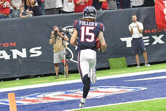 The NFL named Houston Texans WR Will Fuller V the AFC Special Teams Player of the Week following his performance ...