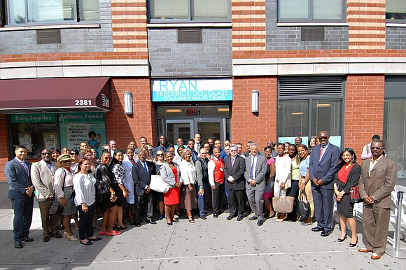 Elected officials, community representatives and government officials joined the leadership of The William F. Ryan Community Health Network to formally ...