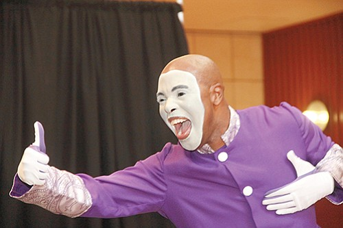"""When your moniker is """"The Chozen 1"""" you have to bring it every time and that is exactly what mime ..."""