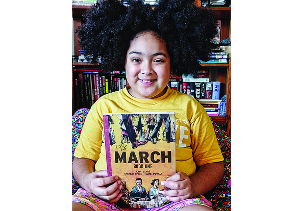 The fifth-grader at William Fox Elementary School in Richmond plays the alto saxophone in the school band, initiated her family's ...