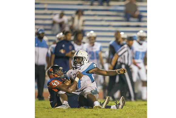 It's time to add Stephen Mines and Christian Harden to Virginia State University's emerging cast of football playmakers. Both figure ...