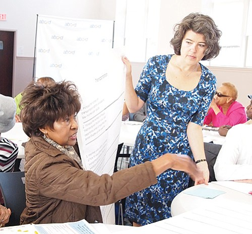 Those working to make the city more comfortable and affordable to seniors presented their findings and asked senior residents to ...