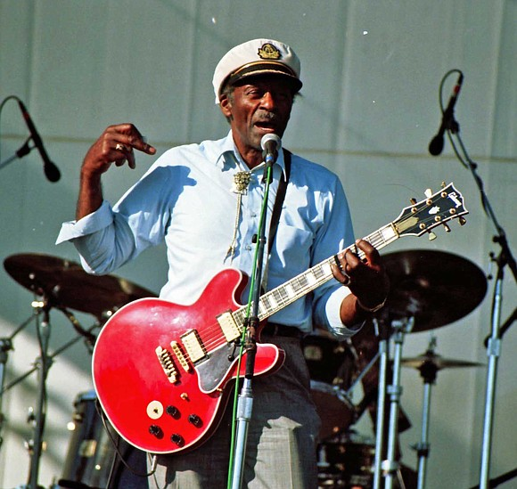 Chuck Berry, the dynamic guitarist and songwriter, whose unique singing style crossed all genres and put the R in rock ...