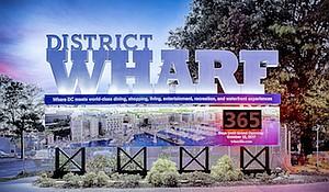 The Wharf countdown clock has been unveiled. (Courtesy of dcwharf.com)
