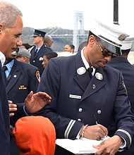 FDNY, AG Holder, Washington
