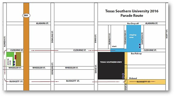 Texas Southern University's annual Homecoming parade returns to its home in the historic Third Ward for the first time in ...