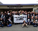 Thousands of Seattle teachers and students from schools all over the district united on Wednesday, October 19, 2016 wearing Black Lives Matter shirts to reinforce their commitment to black students in their public schools.