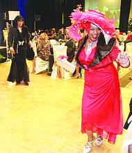 The annual Stompin' at the Savoy gala, where attendees dress to the nines, takes place Nov. 12.