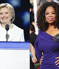 """Oprah Winfrey has a strong message for undecided voters in a new interview with TV host T.D. Jakes: """"There really is no choice, people."""""""