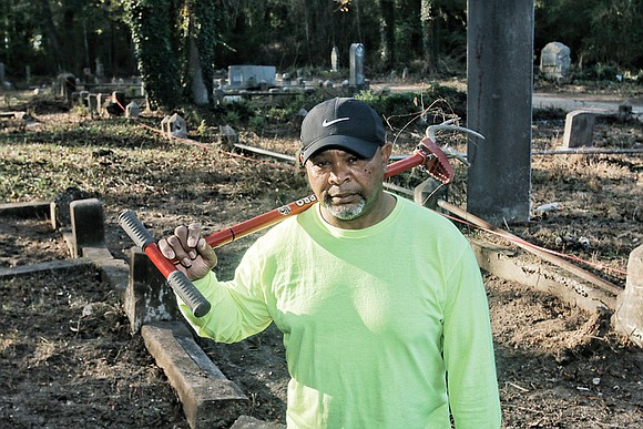 The Men's Ministry at First African Baptist Church wants to do its part to help restore the neglected, but historic ...
