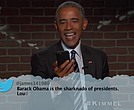 President Barack Obama on Jimmy Kimmel Live