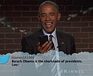 President Barack Obama on Jimmy Kimmel Live