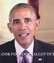 President Obama urges Oregonians to vote for Gov. Kate Brown.