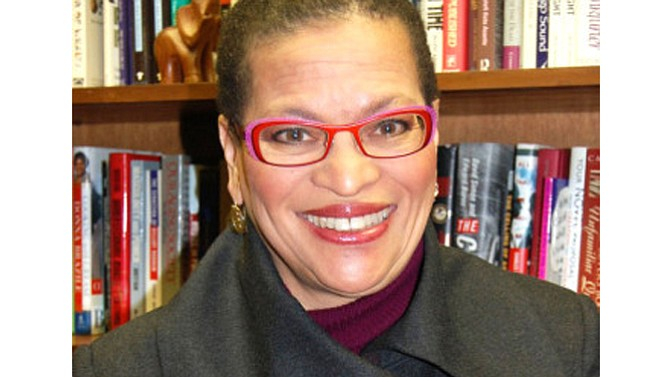 Julianne Malveaux says that claims of voter fraud divert attention from a more significant issue: that voter suppression makes it more difficult for many to vote.