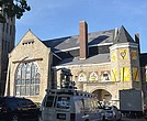 Clayborn Temple now is adorned with 26 mural-like panels – a sign that renovation is in the foreseeable future. The renovation news was greeted with open arms. (Photos: Tyrone P. Easley)