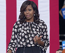 Michelle Obama speaks at Hillary Clinton rally in Winston-Salem, N.C.