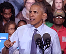 "President Barack Obama in Hilllary Clinton politcal ad ""On The Ballot"""