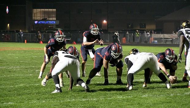 The Oswego offense had a tough time against the Joliet West defense but it pulled out the tough 10-9 win.