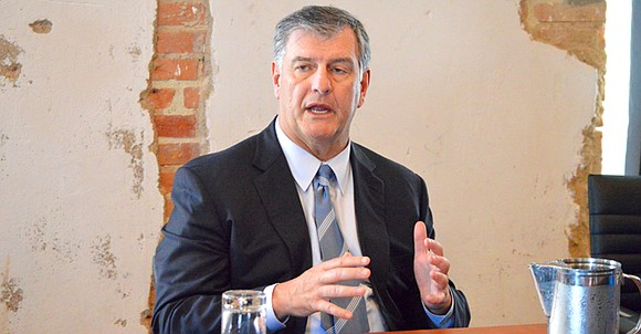 Mayor Mike Rawlings called a one-on-one meeting with media representatives and urban specialists Sept. 8 to offer what was billed ...