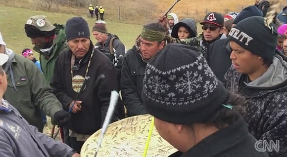 Police and approximately 400 people who were protesting the Dakota Access Pipeline clashed Sunday evening as demonstrators set cars on ...