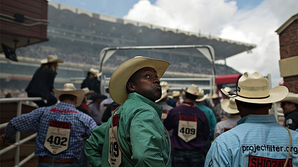 The champion calf-roper is a legend and an outlier.