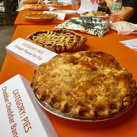 I was honored again to judge the annual Bake-Off at the Harlem Park To Park Harlem Harvest Festival held last ...