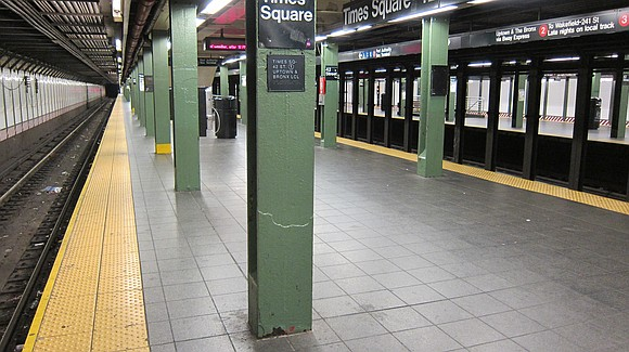 A person was shoved in front of the 1 train and fatally struck at Times Square on Monday afternoon, officials ...