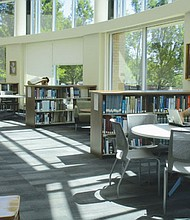 The community is invited to an open house on the Portland Community College Cascade Campus, 705 N. Killingsworth St., on Tuesday, Nov. 15. from 4 p.m. to 7 p.m. to tour its newly remolded library (above) and celebrate the completion of other new services and resources as part of a multi-year, $58 million construction project.