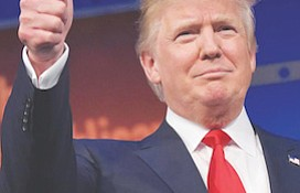 New York businessman Donald Trump will be the 45th president of the United States. (Courtesy photo)
