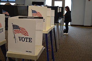 A steady stream of voters turned out to vote in Will County on Tuesday which saw 72% turnout.