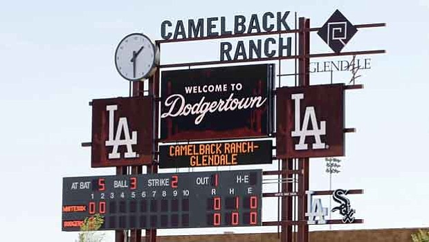 59179574558 Dodgers announce 2017 training schedule at Camelback Ranch