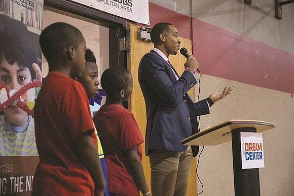 Blazer CJ McCollum project brings innovative learning room outfitted with new computers, books, art and learning tools to the Blazers ...