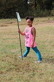 A youngster plays a classic farm game.