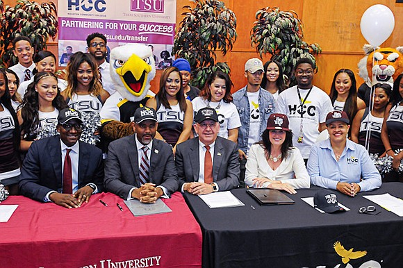 Administrators from Texas Southern University (TSU) and the Houston Community College System (HCCS) signed a historic memorandum of understanding on ...