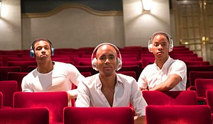 The audience will wear wireless headphones so they can select between three original musical scores to view the premiere of Tiffany Rea-Fisher's The B-Side.